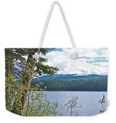 Lake Alva From National Forest Campground Site-yt Weekender Tote Bag