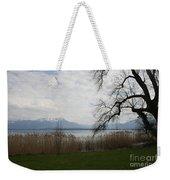 Lake And Mountains Weekender Tote Bag