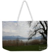 Lake And Mountains Weekender Tote Bag