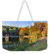 Lake At Chilhowee Weekender Tote Bag by Debra and Dave Vanderlaan
