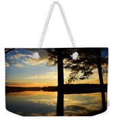 Lake At Sunrise Weekender Tote Bag
