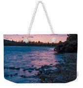 Lake Bailey Sunset Weekender Tote Bag