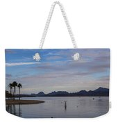 Lake Beach Weekender Tote Bag