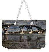 Lake Champlain Bridge Weekender Tote Bag