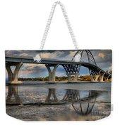 Lake Champlain New Bridge Weekender Tote Bag