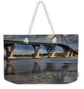 Lake Champlain Tied Arch Bridge Weekender Tote Bag
