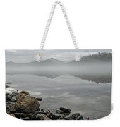 Lake Chatuge Mirror Image Weekender Tote Bag