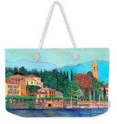 Lake Como Weekender Tote Bag