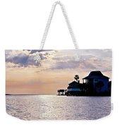 Lake Como On The Gulf Coast Sunset Weekender Tote Bag