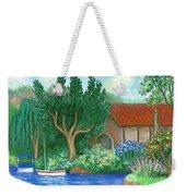 Lake Cottage Weekender Tote Bag