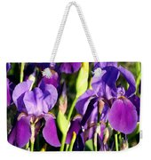 Lake Country Irises Weekender Tote Bag