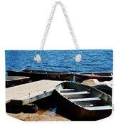 Lake Dock Weekender Tote Bag