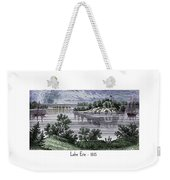 Lake Erie - 1815 Weekender Tote Bag