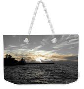 Lake Erie Lights Weekender Tote Bag