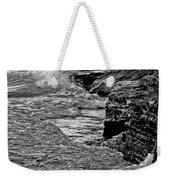 Lake Erie Waves Weekender Tote Bag