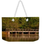 Lake Forest Bridge Weekender Tote Bag
