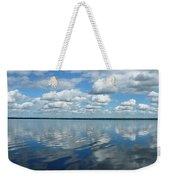 Lake Full Of Clouds Weekender Tote Bag