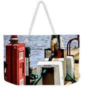 Lake Gas Depot Weekender Tote Bag