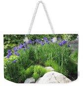 Lake George Irises Weekender Tote Bag