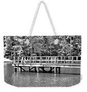 Lake Greenwood Pier Weekender Tote Bag