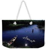 Lake Guiding Sports Fishing Weekender Tote Bag