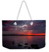 Lake Herman Sunset Weekender Tote Bag