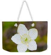 Lake Huron Wildflower Weekender Tote Bag