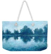Lake In The Morning Weekender Tote Bag