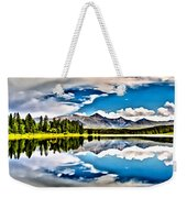 Lake In The Mountains Weekender Tote Bag