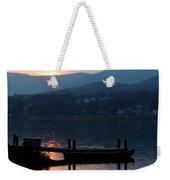 Lake J Sunset Weekender Tote Bag