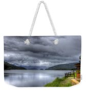 Lake Koocanusa At Libby Dam Weekender Tote Bag