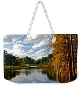 Lake Lancaster Weekender Tote Bag by Denise Mazzocco