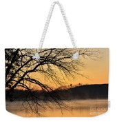 Lake Louise Sunrise Through The Trees Weekender Tote Bag