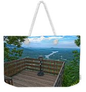 Lake Lure Overlook Weekender Tote Bag