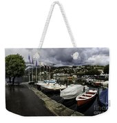 Lake Maggiore Boats Weekender Tote Bag