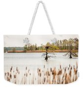 Lake Mattamuskeet Nature Trees And Lants In Spring Time  Weekender Tote Bag