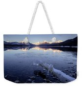 Lake Mcdonald Winter Weekender Tote Bag