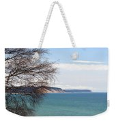 Lake Michigan Bluffs Weekender Tote Bag