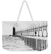 Lake Michigan Lighthouse Weekender Tote Bag