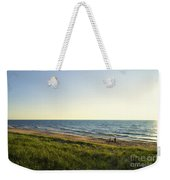 Lake Michigan Shoreline 01 Weekender Tote Bag