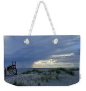 Lake Michigan Sky Weekender Tote Bag