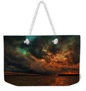 Lake Murray Fire Sky Weekender Tote Bag