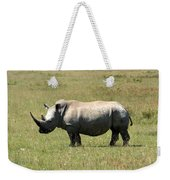 Lake Nakuru White Rhino Weekender Tote Bag
