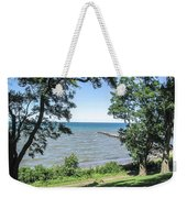 Lake Ontario At Webster Park Weekender Tote Bag
