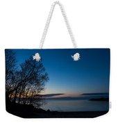 Lake Ontario Blue Hour Weekender Tote Bag