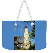 Lake Park Light House 2 Weekender Tote Bag