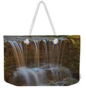 Lake Park Waterfall Weekender Tote Bag