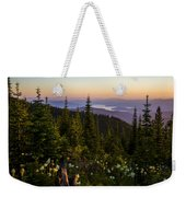 140701a-042 Lake Pend Oreille From The Cabinets Weekender Tote Bag