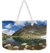 Lake Piccolo - Val Di Sole Weekender Tote Bag