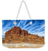 Lake Powell Rocks Weekender Tote Bag by Ayse Deniz